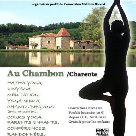 elodie caillaud - festival de yoga chambon